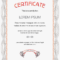 Payment Certificate Template ] – 14 Best Certificate Images Intended For Beautiful Certificate Templates