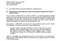 Pdf Letter Google — Women On Waves for Advocacy Letter Template