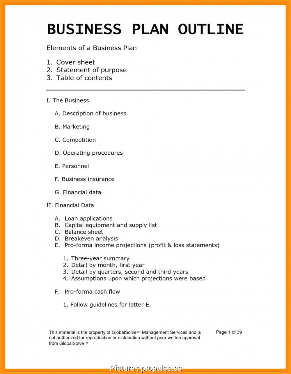 Perfect It Ing Business Plan Template Images Usa Headlines Inside Business Plan Template For Service Company