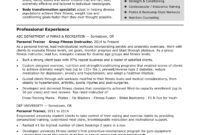 Personal Trainer Resume Sample | Monster pertaining to Business Plan Template For A Gym