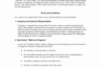 Phenomenal Physical Security Policy Template Ideas Corporate with Access Control Policy Template