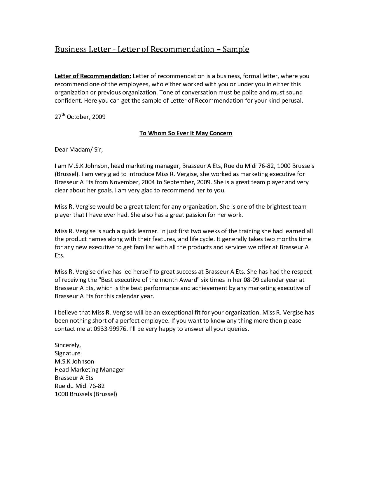 Phenomenal Reference Letter Templates Word Template Ideas Nz In Business Reference Template Word
