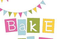Pie Bake Sale Clipart regarding Bake Off Flyer Template