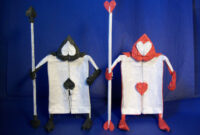 Pixar, Disney And Other Animated Characters In Origami Form regarding Alice In Wonderland Card Soldiers Template