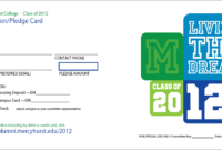 Pledge Card Template – Fossil.adtddns.asia for Building Fund Pledge Card Template