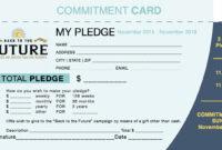 Pledge Card Template Word ] – Free Pledge Card Template inside Building Fund Pledge Card Template