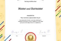Portrait Certificate Template In Football Sport inside Athletic Certificate Template