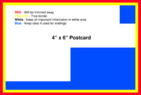 Postcard Template – American Printing And Mail intended for 4 X 6 Postcard Template