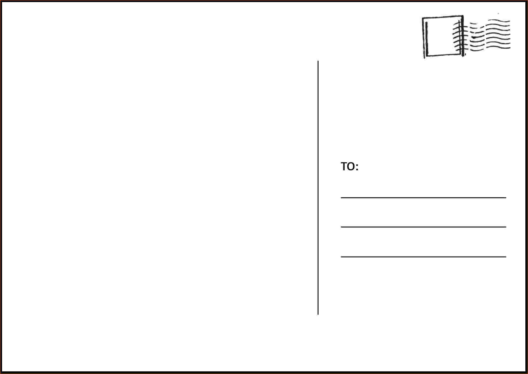 Postcard Template Microsoft Word - Tunu.redmini.co Regarding 4 To A Page Postcard Template