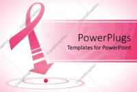 Powerpoint Template: Breast Cancer Awareness Pink Ribbon throughout Breast Cancer Powerpoint Template