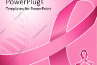 Powerpoint Template: Pink Ribbon For Fighting Breast Cancer throughout Breast Cancer Powerpoint Template