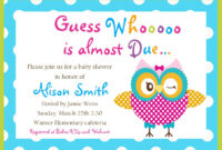 Printable Baby Shower Invitations Free Woodland Themed With for Baby Shower Invitation Templates For Word