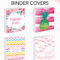 Printable Binder Covers – Make Your Own Binder Covers With With Regard To Binder Label Template