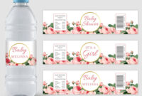 Printablewater Hashtag On Twitter for Baby Shower Water Bottle Labels Template