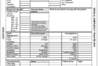 Pro-Forma Document (Case Report Form) Used To Record The inside Case Report Form Template