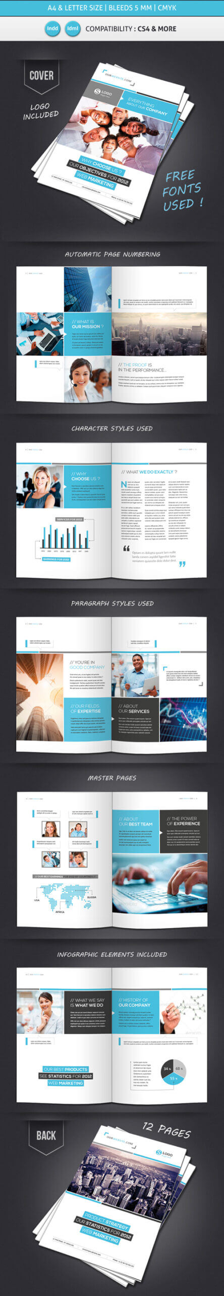 Professional Brochure Designs | Design | Graphic Design Junction For 12 Page Brochure Template