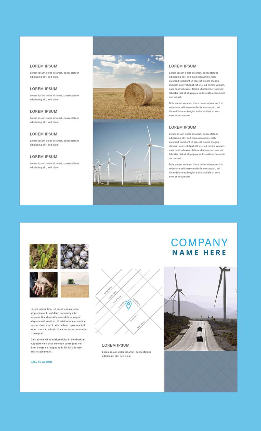Professional Brochure Templates   Adobe Blog With Adobe Illustrator Tri Fold Brochure Template