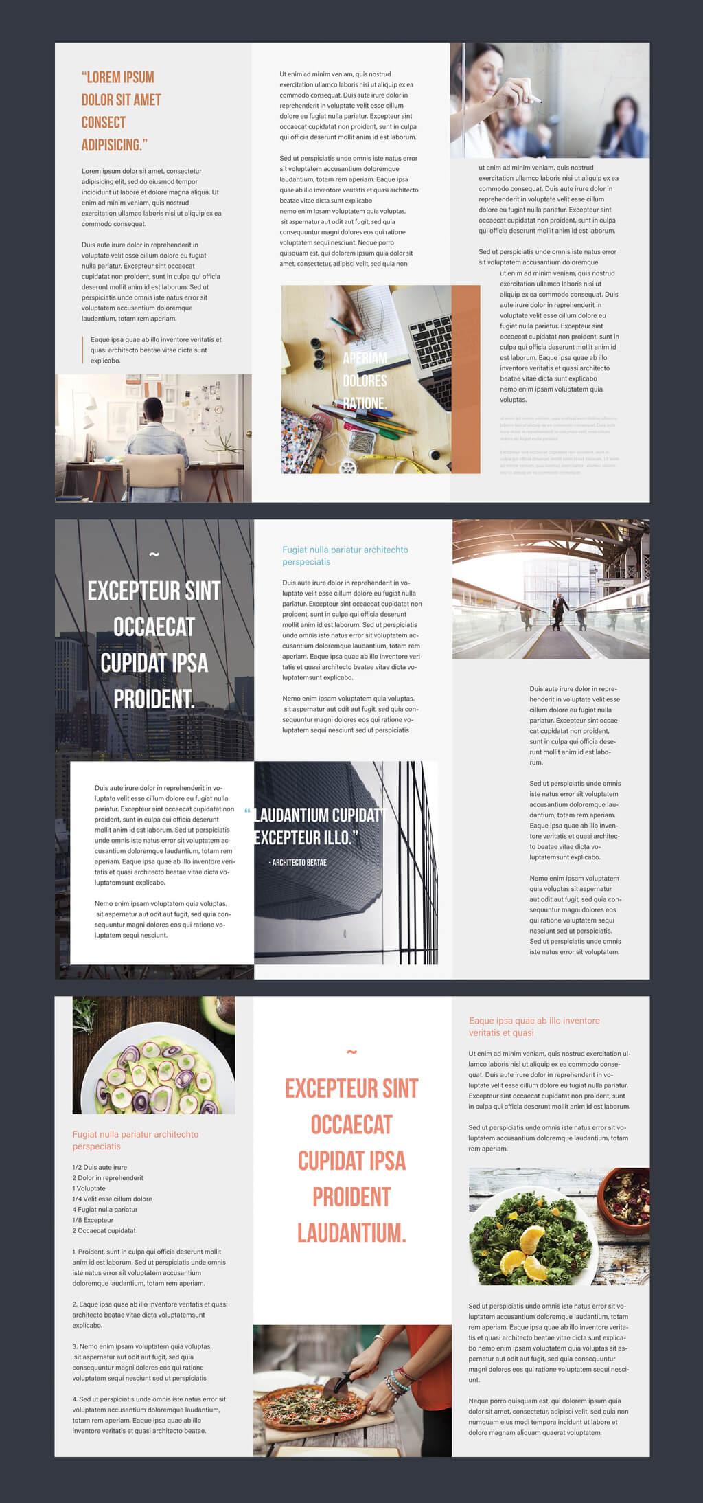 Professional Brochure Templates   Adobe Blog Within Adobe Illustrator Tri Fold Brochure Template