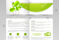 Professional Business 2 Page Flyer Template Stock Vector in 2 Page Flyer Template
