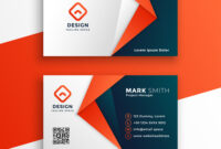 Professional Business Card Template Design throughout Buisness Card Template