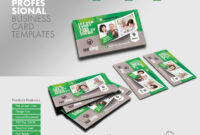 Professional Business Card Templatesgrafilker On Envato throughout Advertising Cards Templates