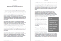 Professional-Looking Book Template For Word, Free – Used To Tech in 6X9 Book Template For Word