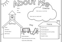 Punchy All About Me Printable Worksheets | Leslie Website pertaining to All About Me Book Template