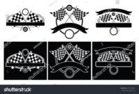 Racing Design Templates Illustration Designs Car Stock pertaining to Blank Race Car Templates