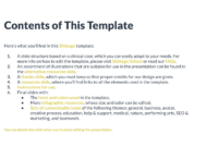 Rare Disease Google Slides Theme And Powerpoint Template intended for Case Presentation Template