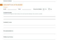 Report Examples Behaviour Ncident Template Non Njury Form with regard to Behaviour Report Template