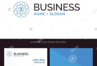 Revenue, Capital, Earnings, Make, Making, Money, Profit Blue with regard to Business Card Maker Template
