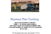 Sample Business Plan Computer Repair Shop | Free Resume intended for Business Plan Template For Trucking Company