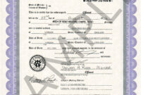 Sample Certificates | Nevada Document Retrieval Service with regard to Certificate Of Marriage Template