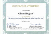 Samples Of Certificate Of Appreciation – Horizonconsulting.co with Army Certificate Of Appreciation Template