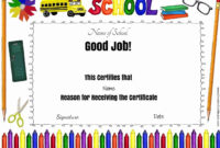 School Certificates pertaining to Best Teacher Certificate Templates Free