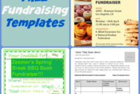 School Fundraising Flyer Templates – Colona.rsd7 in Charity Event Flyer Template