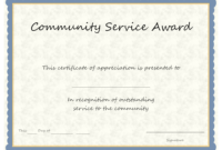 Service Awards Templates – Colona.rsd7 in Certificate For Years Of Service Template