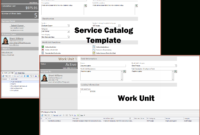 Service Catalog Template/work Unit (Light) Mapp with regard to Business Service Catalogue Template