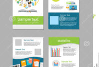 Set Of Flyer. Brochure Design Templates. Education with Brochure Design Templates For Education
