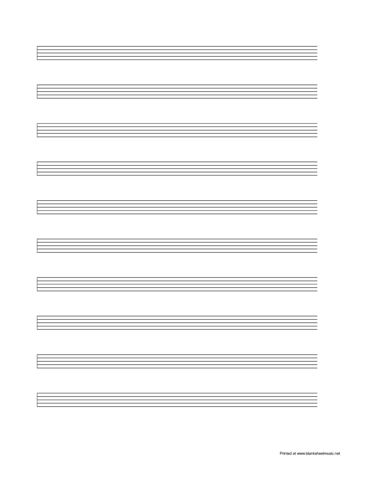 Sheet Music Template Blank For Word Free Pdf Spreadsheet In Blank Sheet Music Template For Word