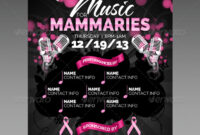 Silhouette Graphics, Designs & Templates From Graphicriver for Benefit Dance Flyer Templates