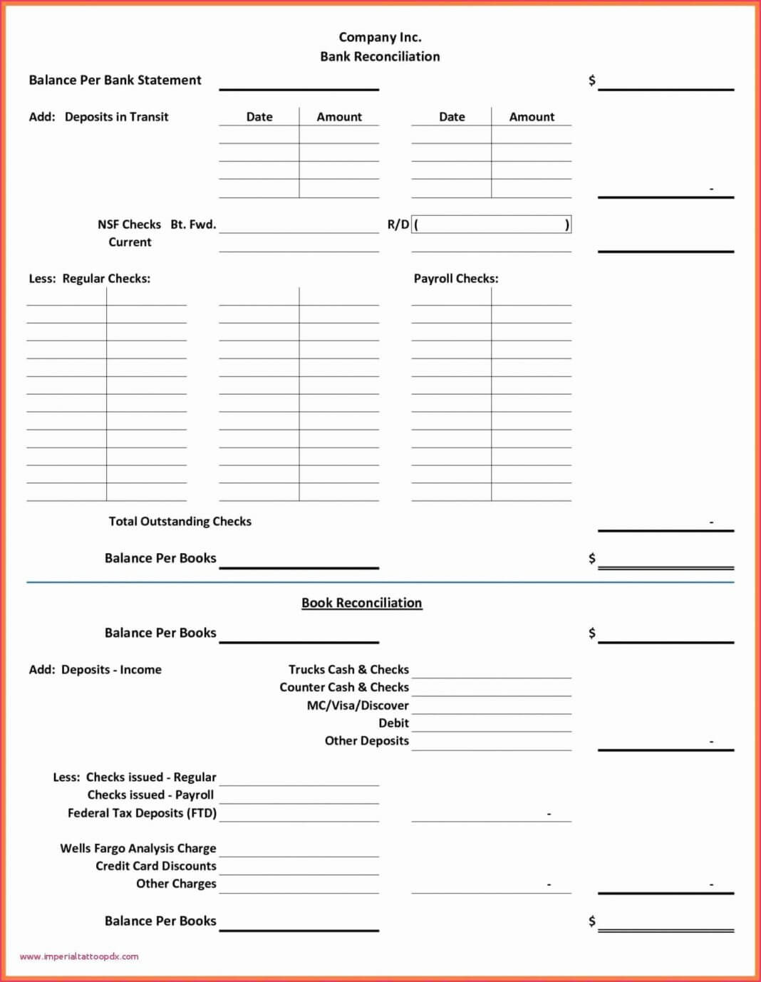 Simple Bank Reconciliation Template Elegant Balance Sheet With Regard To Business Bank Reconciliation Template