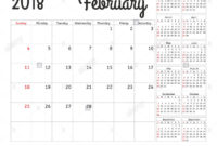 Simple Calendar Planner For 2018 Year. Calendar Planning in 12 Week Year Templates