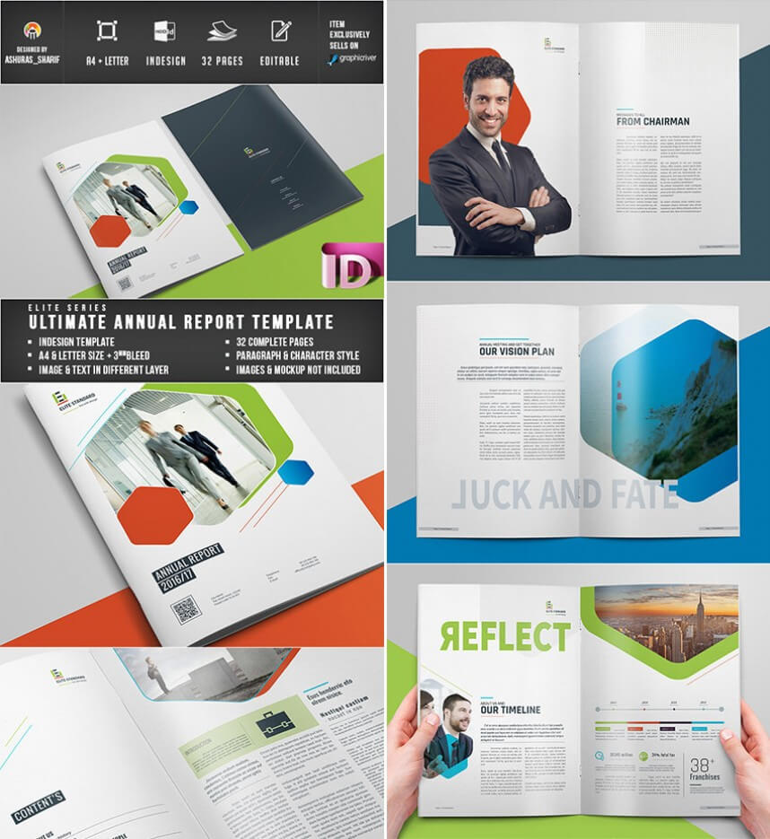 Singular Free Annual Report Template Indesign Ideas Download For Chairman's Annual Report Template