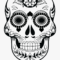 Skull Clipart Candy – Blank Sugar Skull Outline Inside Blank Sugar Skull Template