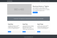Small Business – Bootstrap Marketing Website Template within Bootstrap Templates For Business