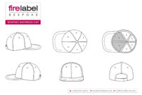 Snapback Hat Vector At Getdrawings | Free For Personal in 5 Panel Hat Template