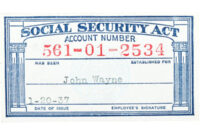 Social Security Card Template Pdf ] – Galleryhip Com Social pertaining to Blank Social Security Card Template