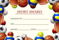 Sports Certificate Template Free Vector Art – (70 Free regarding Athletic Certificate Template