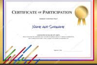Sports Theme Border   Certificate Template Sport Theme inside Athletic Certificate Template